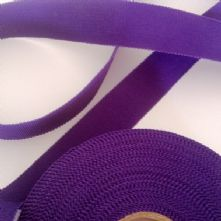 Purple 25mm Milliner's Petersham Ribbon